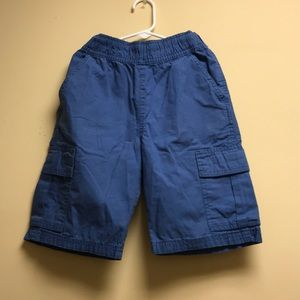 Boys red and blue shorts, size 8.